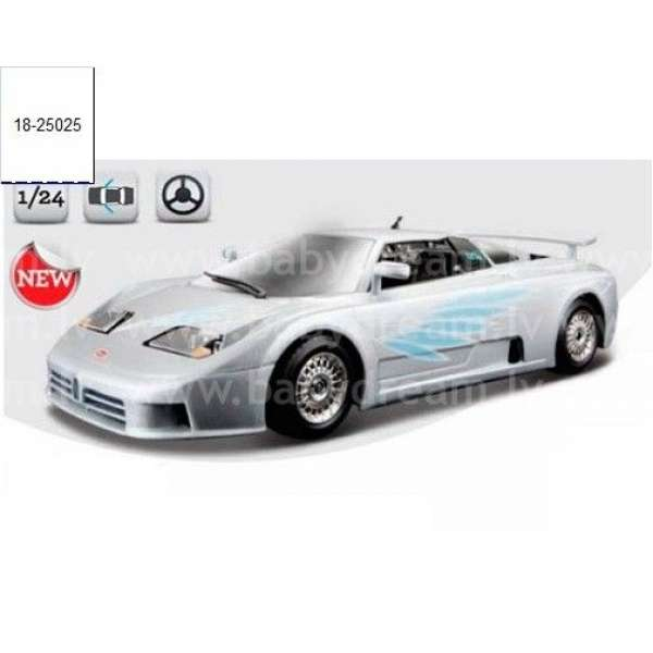Bburago Automašīna - konstruktors 1:24 Bugatti EB 110 1991, 18-25025