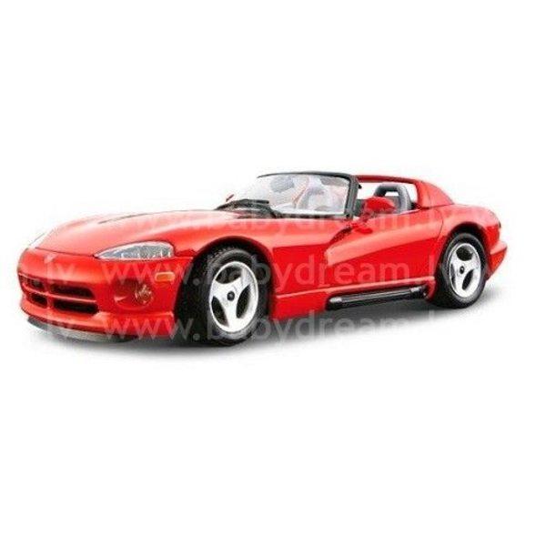 Bburago Automašīna - konstruktors 1:24 Dodge Viper RT/10, 18-25033