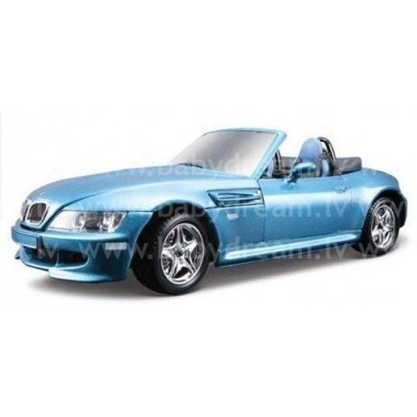 Bburago Automašīna - konstruktors 1:24 BMW M Roadster Met.blue, 18-25043 Blue