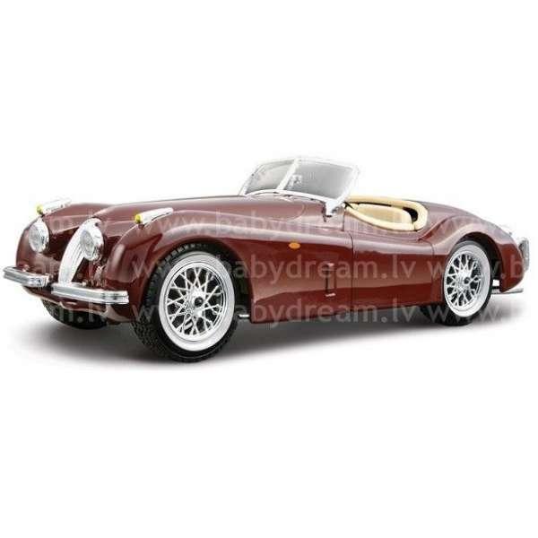Bburago Automašīna - konstruktors 1:24 Jaguar XK 120 Roadster, 18-25061