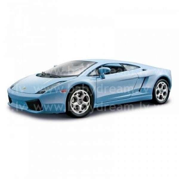 Bburago Automašīna - konstruktors 1:24 Lamborghini Gallardo Met.blue, 18-25076 Blue