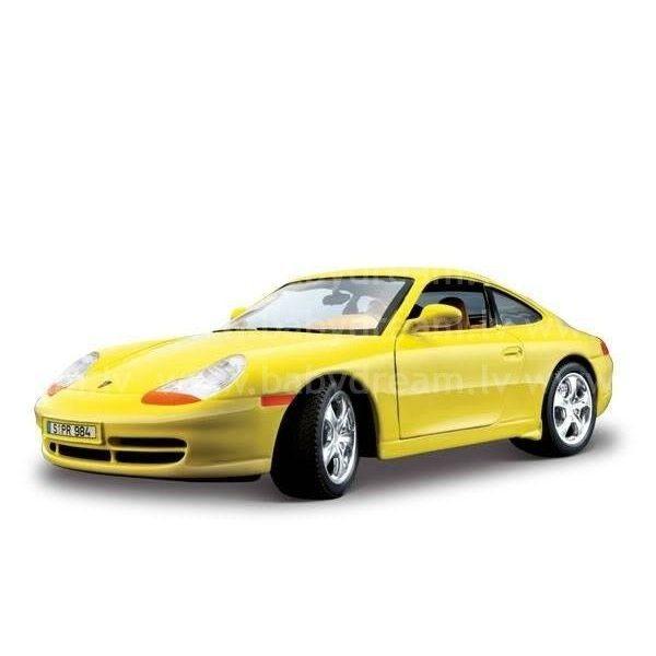 Bburago Automašīna - konstruktors 1:24 Porsche 911 Carrera, 18-25111