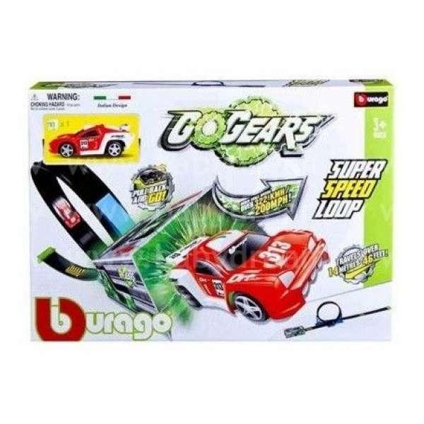Bburago Autotrase 1:55 Go Gear Super Speed Loop, 18-30278