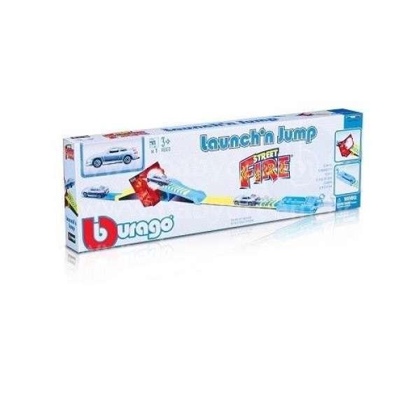 Bburago Autotrase 1:43 Street Fire Jump W/Launcher, 18-30284