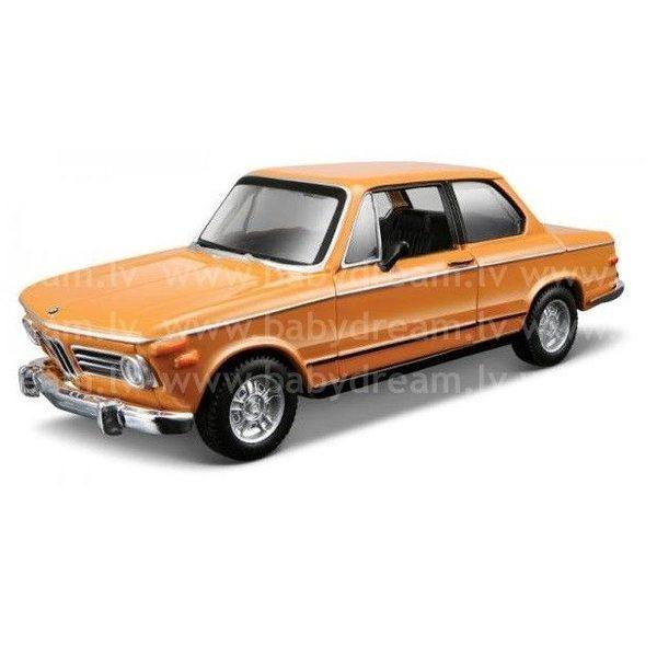 Bburago Automašīna 1:32 BMW 2002TII, 18-43202 Orange
