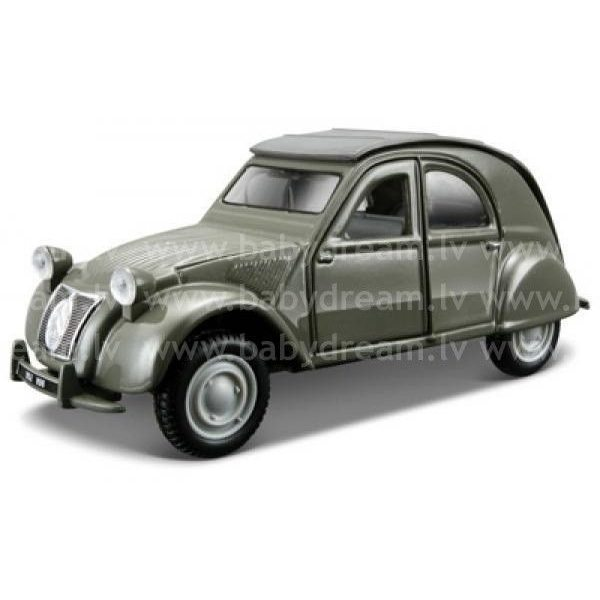 Bburago Automašīna 1:32 Citroen 2CV, 18-43203 Green