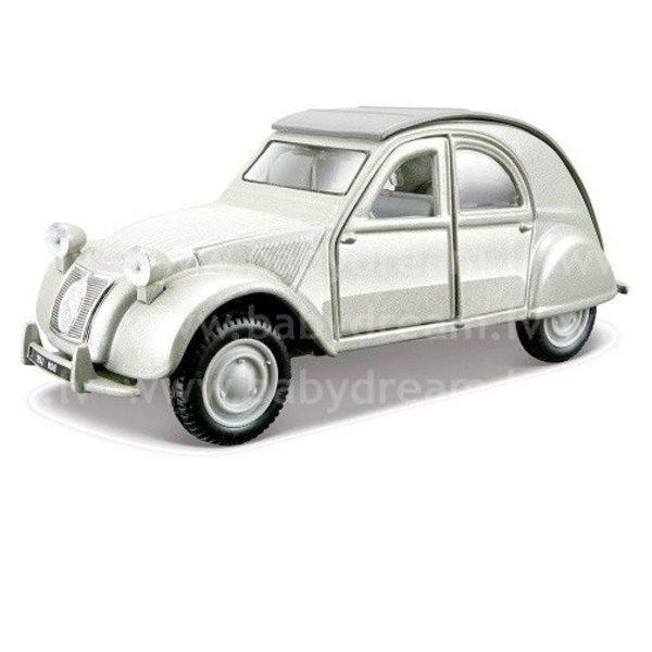 Bburago Automašīna 1:32 Citroen 2CV, 18-43203 Silver