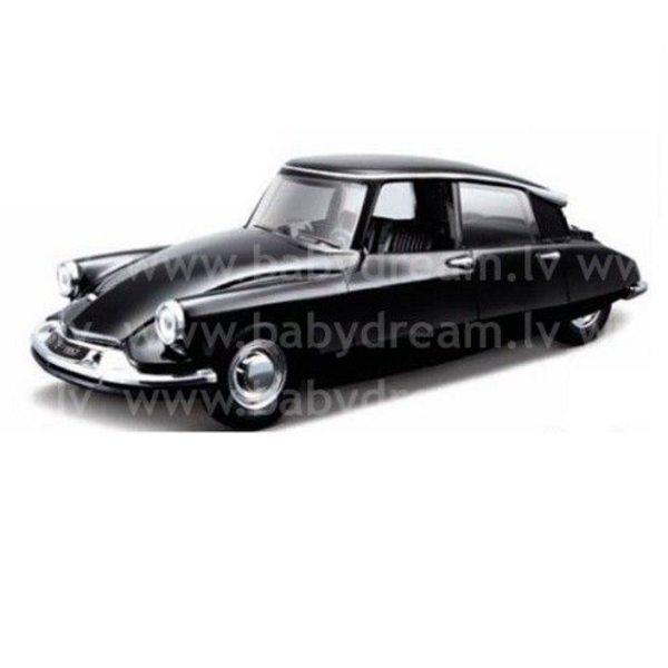 Bburago Automašīna 1:32 Citroen DS19, 18-43204 Black