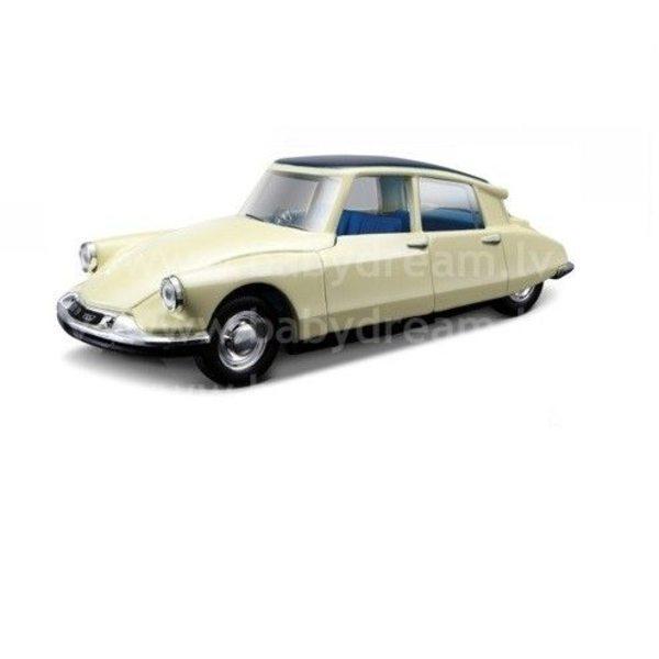Bburago Automašīna 1:32 Citroen DS19, 18-43204 White