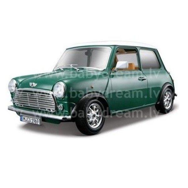 Bburago Automašīna 1:32 Mini Cooper, 18-43206 Green