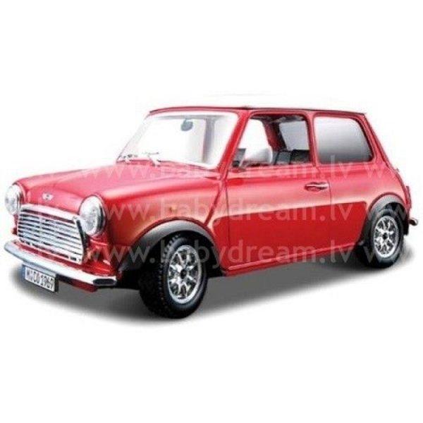 Bburago Automašīna 1:32 Mini Cooper, 18-43206 Red