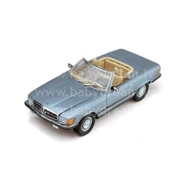 Bburago Automašīna 1:32 Mercedes Benz 450 SL Cabrio, 18-43212 Met.blue