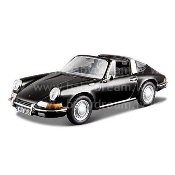 Bburago Automašīna 1:32 Porsche 911, 18-43214 Black