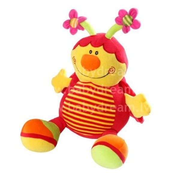 BabyOno Velūra rotaļlieta ar grabuli, 991