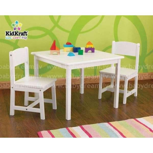 Kidkraft Aspen Table and 2 Chair Set - Galdiņš ar krēsliņiem, 21201