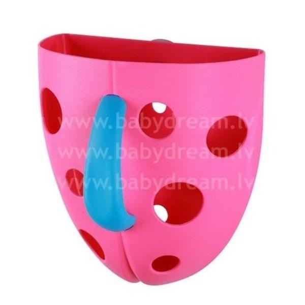 BabyOno Kaste vannas rotaļlietām Pink, 262