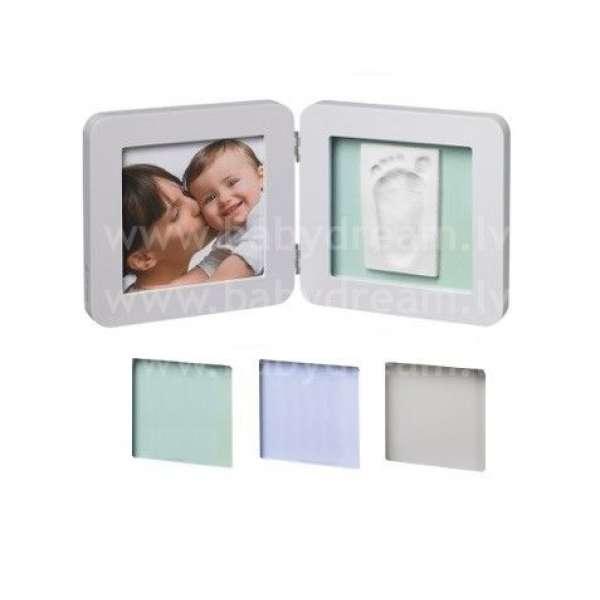 Baby Art Print Frame Pastel Komplekts mazuļa pēdiņu/rociņu nospieduma izveidošanai, 34120138