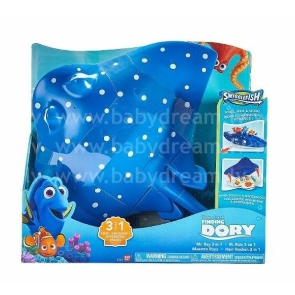 Bandai Finding Dory - Meklējot Doriju, Mr.Ray 3 in 1, 36465