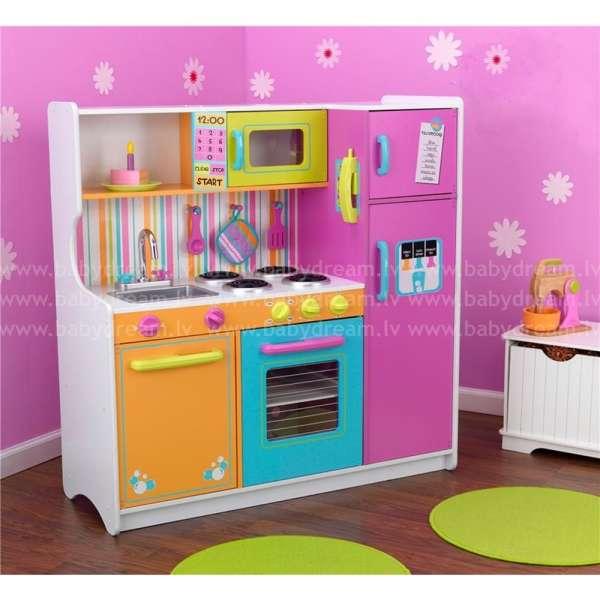 Kidkraft Deluxe Big and Bright Kitchen - Bērnu virtuve, 53100