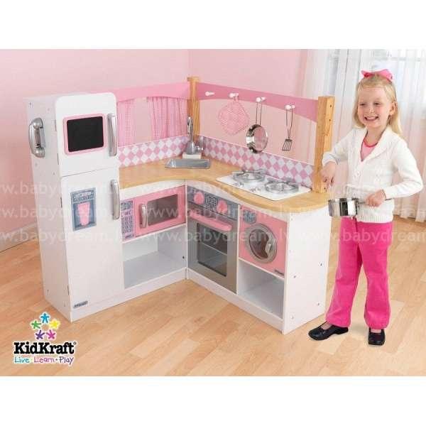 Kidkraft Grand Gourmet Corner Kitchen - Bērnu virtuve, 53185