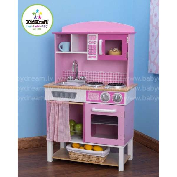 Kidkraft Home Cooking Kitchen - Bērnu virtuve, 53198
