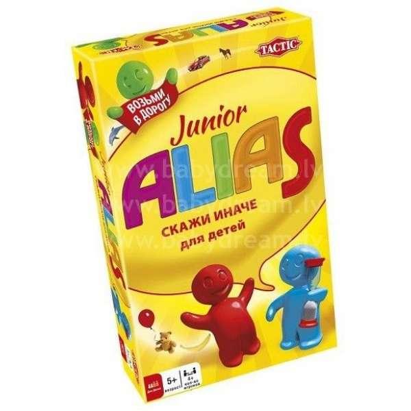 Tactic Galda spēle Alias Junior ceļojumu versija RU, 53369