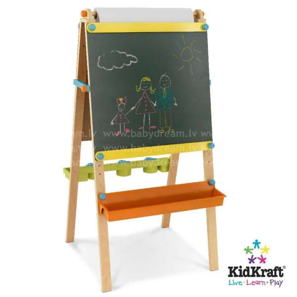 Kidkraft Artist Easel with Paper Roll - Bērnu molberts, tāfele, 62026
