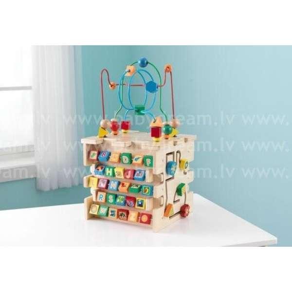 Kidkraft Deluxe Activity Cube Attistošais kubs, 63298