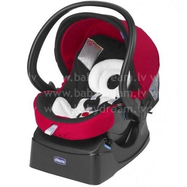 Chicco Auto-Fix Bērnu autokrēsliņš 0-13kg, Red wave