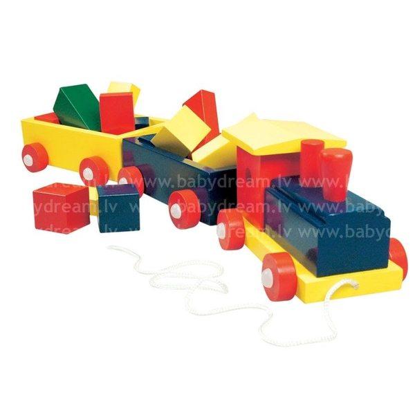 Bino Koka vilciens ar figūrām, 82141