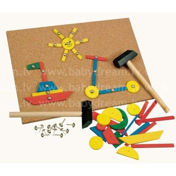 Bino Spēļu komplekts ar āmuru Hammer, 82188