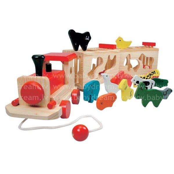 Bino  Koka vilciens ar dzīvniekiem, 84166