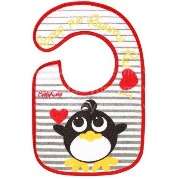 """BabyOno Priekšautiņš frotē Mini 3+ """"Pingvīns"""", 873"""