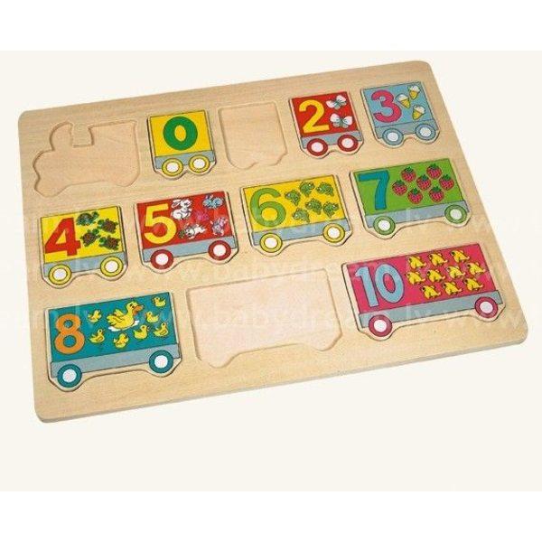 Bino Puzzle Number Train, 88104