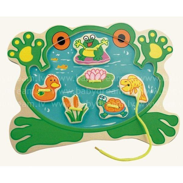 Bino Sewing Kit, Frog, 88106