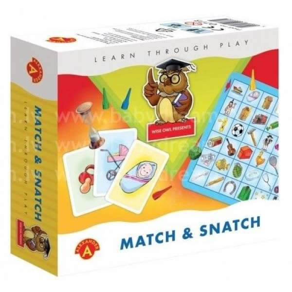Alexander Galda spēle Match & Snatch