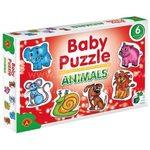 Alexander Baby Puzzle Dzīvnieki
