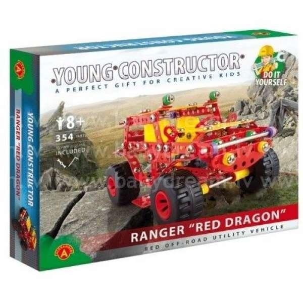 Alexander Metāla konstruktors Ranger Red Dragon
