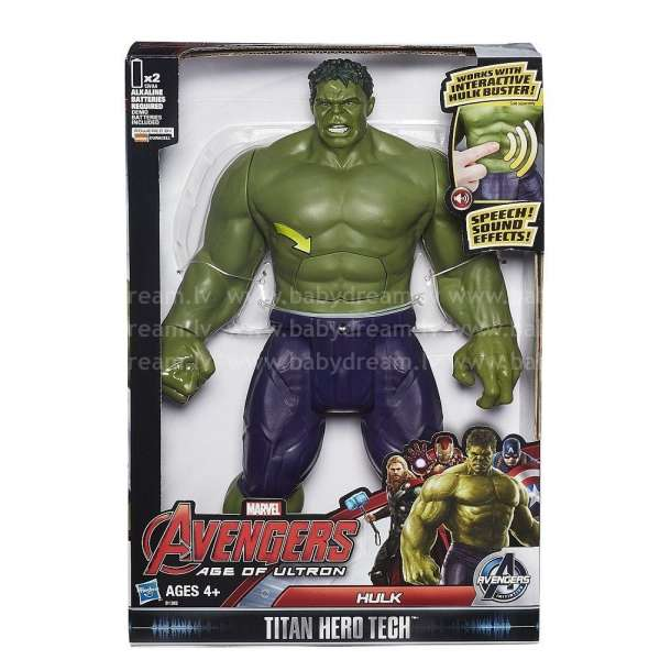 Avengers Titan Hero figūra Hulk, B0443