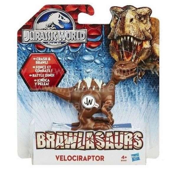 Jurassic World Dinozaura figūra Brawlasaurs Velociraptor, B1143