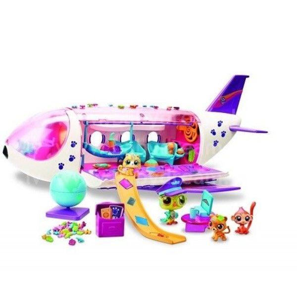 Littlest Pet Shop Lidmašīna Jet With Accessories, B1242