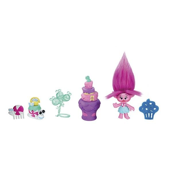 Trolls Troļlu Rotaļlieta ar aksesuāriem Poppy, B6556