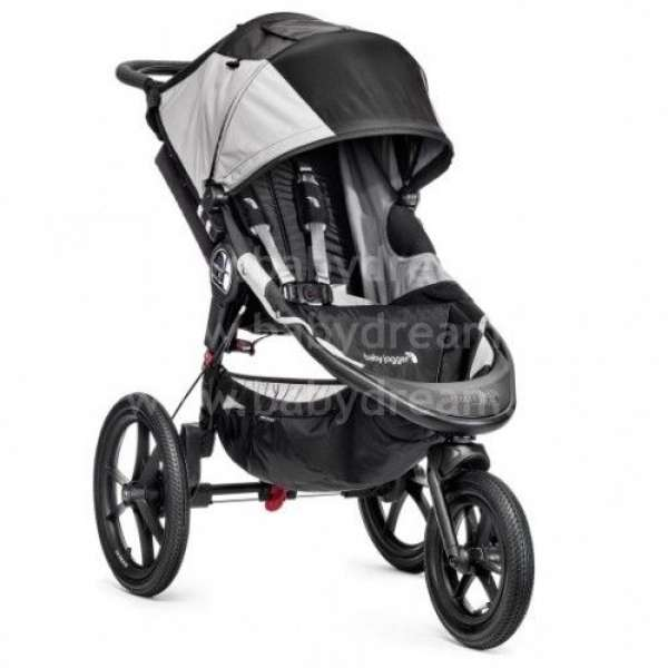 Baby Jogger Summit X3 Black/Gray Bērnu sporta rati