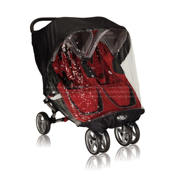 Baby Jogger City mini Double Lietusplēve