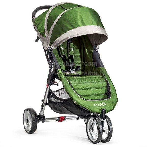 Baby Jogger City mini Lime/Gray Bērnu sporta rati
