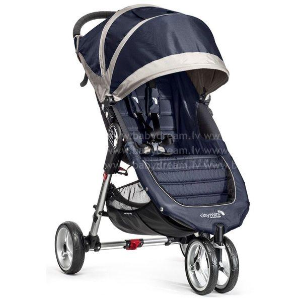 Baby Jogger City mini NavyBlue/Gray Bērnu sporta rati