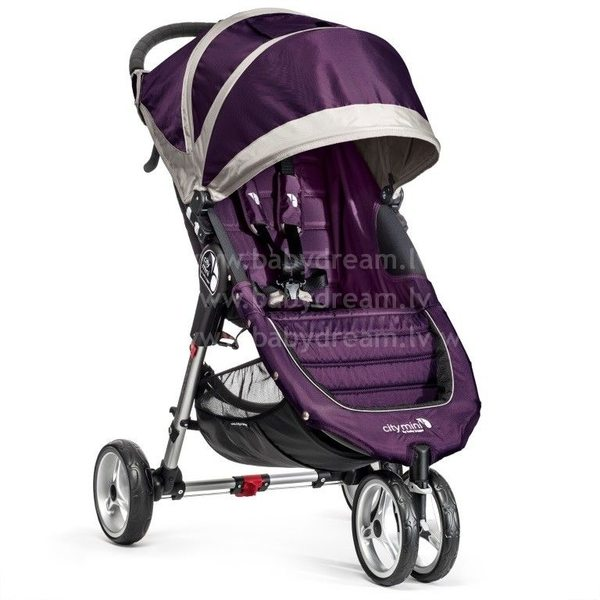 Baby Jogger City mini Purple/Gray Bērnu sporta rati