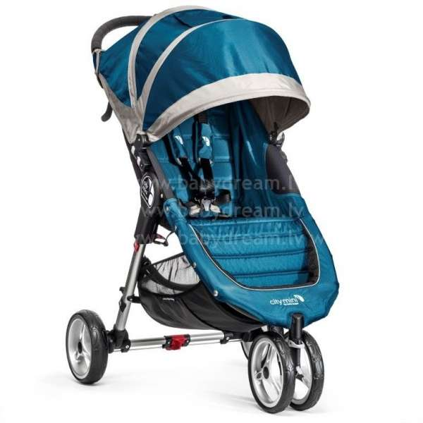 Baby Jogger City mini Teal/Gray Bērnu sporta rati