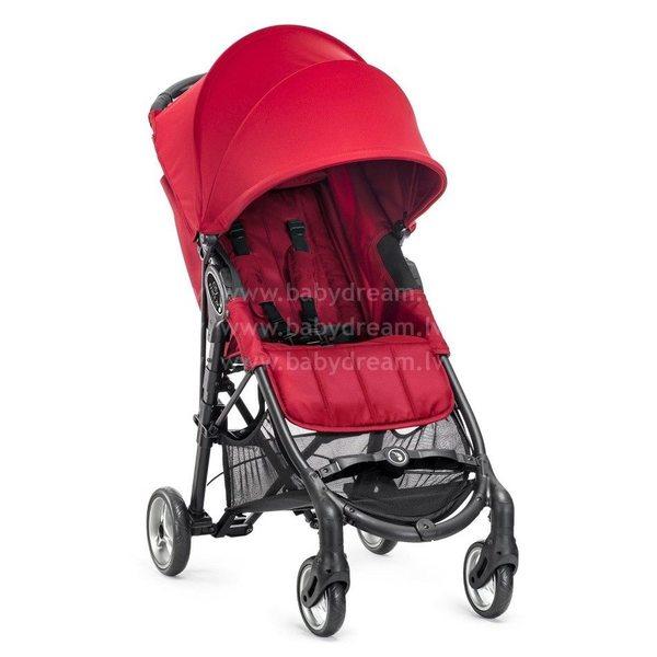 Baby Jogger City Mini Zip Red Bērnu sporta rati
