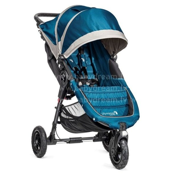 Baby Jogger City mini GT Teal/Grey Bērnu sporta rati